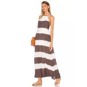 Bailey 44 Galabeya Dyed Stripe Maxi Dress Sz:12NWT, used for sale